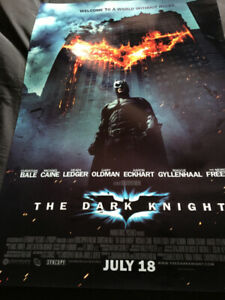 dark knight /justice league posters 27x40 $10 for both