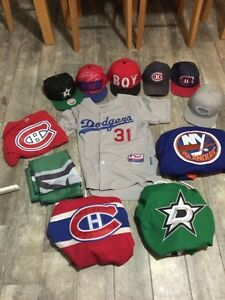 HUGE SPORTS MERCHANDISE LOT