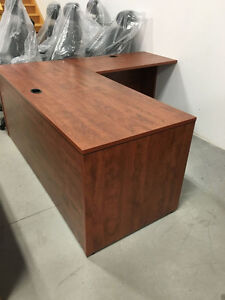 Summerflame Straight Desk - Office Desk