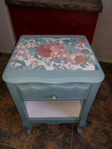 Wooden Painted Night Stand