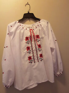 ethnic embroidered blouse