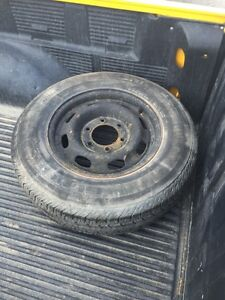 Free 6 bolt Chevy wheel want gone tonight  London Ontario image 1