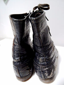 VICTORIAN child's lace-up shoes boots STEAMPUNK KIDS! Tiny Tim Cambridge Kitchener Area image 3