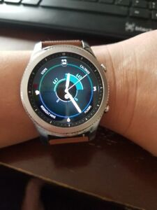 Samsung Gear S3 Classic Smartwatch with HR Monitor and GPS