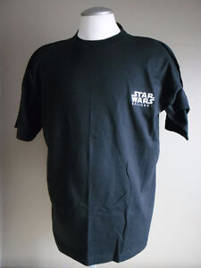 STAR WARS Episode I Men's XL Black T-Shirt NEW