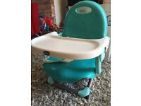 Chicco Pocket Snack Booster Seat - Blue