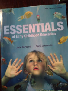 NSCC Early Childhood Education textbooks