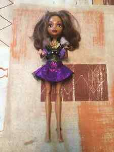 MONSTER HIGH CLAWDEEN GHOULS ALIVE CHRISTMAS West Island Greater Montréal image 1