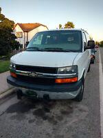 Driver for full size cargo Van