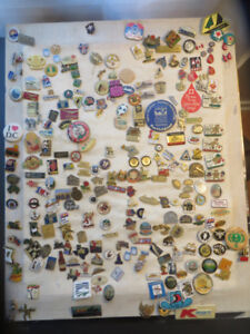 300 +- WORDLY FUN PIN COLLECTION $100 obo