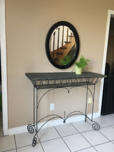 TABLE for entry foyer, hallway, back of sofa, bedroom , plants