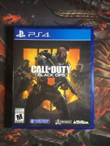 BRAND NEW Call of Duty Black Ops 4 PS4