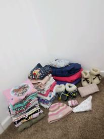 Girls Clothes Bundle 0-6 yrs