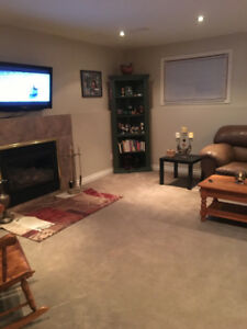 Furnished Short Term Basement Apartment in St. Catharines