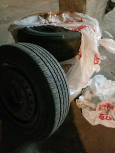 4 Firestone Summer Tires With Rims P195 65R15