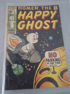 Homer The Happy Ghost Comic