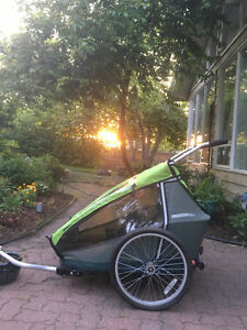 Croozer Double Bike Trailer/Jogger For Sale