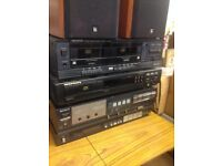 Kenwood KX-56w double cassette seperate