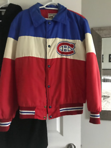 NHL Montreal Canadiens Retro Bomber Jacket