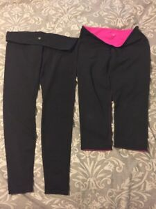 Lululemon size 10 low rise tights/ low rise capri tights