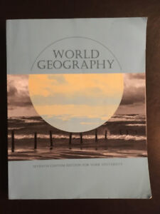 World Geography : Seventh Custom Edition for York University