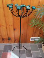 Iron Tea Light Stand