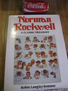 livre peintre Norman Rockwell classic treasury Robin Langley