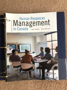 Human Resource Management in Canada - 13th Edition