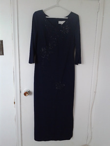 A DARK NAVY COLOR DRESS (New)