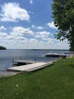 Pigeon lake waterfront cottage rental