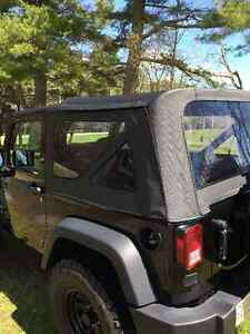 Jeep wrangler 2 door soft top