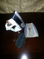 MARY PROCTOR STEAM IRON WITH CLOTH CORD