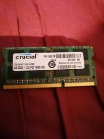 Crucial Mac compatible memory £10