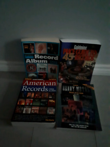 Lot of 6 record & cd price guides & best selling albums books