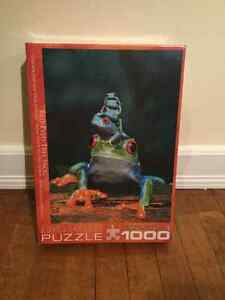 Red-eyed Tree Frog Puzzle - 1000 pieces - new