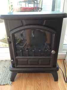 'Franklin Stove' Style Electric Heater