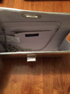 Silver Clutch with Strap London Ontario image 2