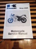 Manuel d'entretiens Kawasaki Ninja 250R
