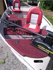 Sylvan Super Snapper Aluminum Boat and Trailer