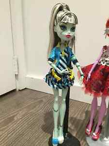 3 MONSTER HIGH DOLLS USED West Island Greater Montréal image 2