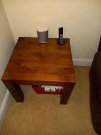 Coffee table and side table £20 for both