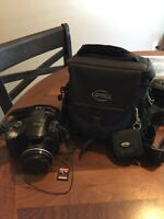 Canon PowerShot SX40 HS with memory card
