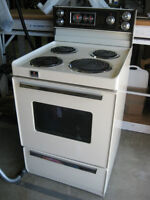 24 wide Westinghouse stove