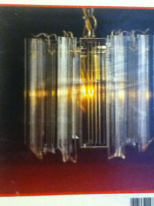 BRAND New in BOX Crystal Ceiling Hanging Light Fixture  NEVER U
