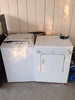 Apartment size whirlpool washer dryer
