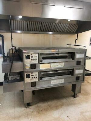 Middleby Marshall Ps570g Double Gas Conveyor Pizza Oven