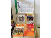 Learn Spanish CD & Book & Dictionary