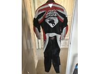 Full motorcycle racing leathers