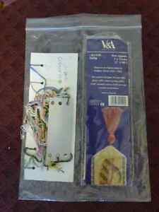 Counted Cross Stitch Bookmark Kit - Made in England