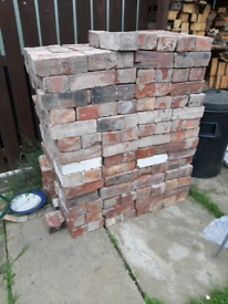 Old Rustic Red Bricks